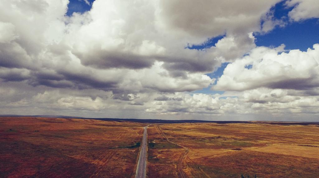 Небо Казахстана