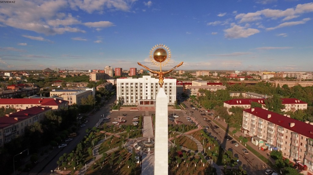 Центр города. Караганда