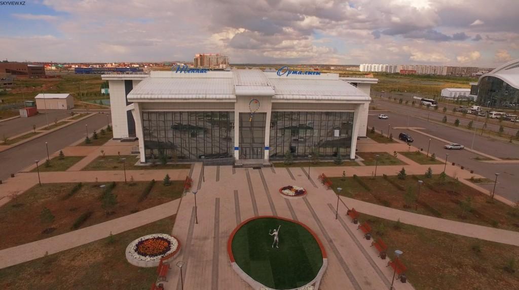 Центр Тенниса. Караганда