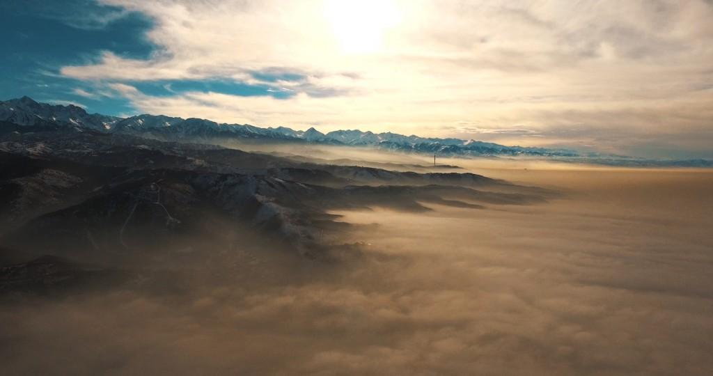 Almaty. Fog. 2016 - 4