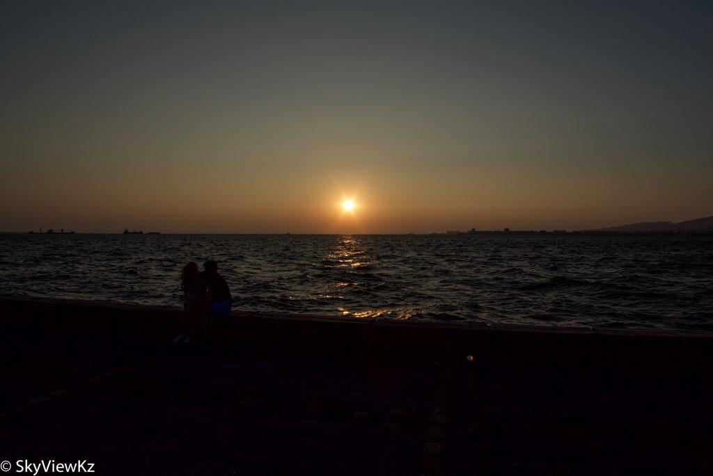 Закат в Имире