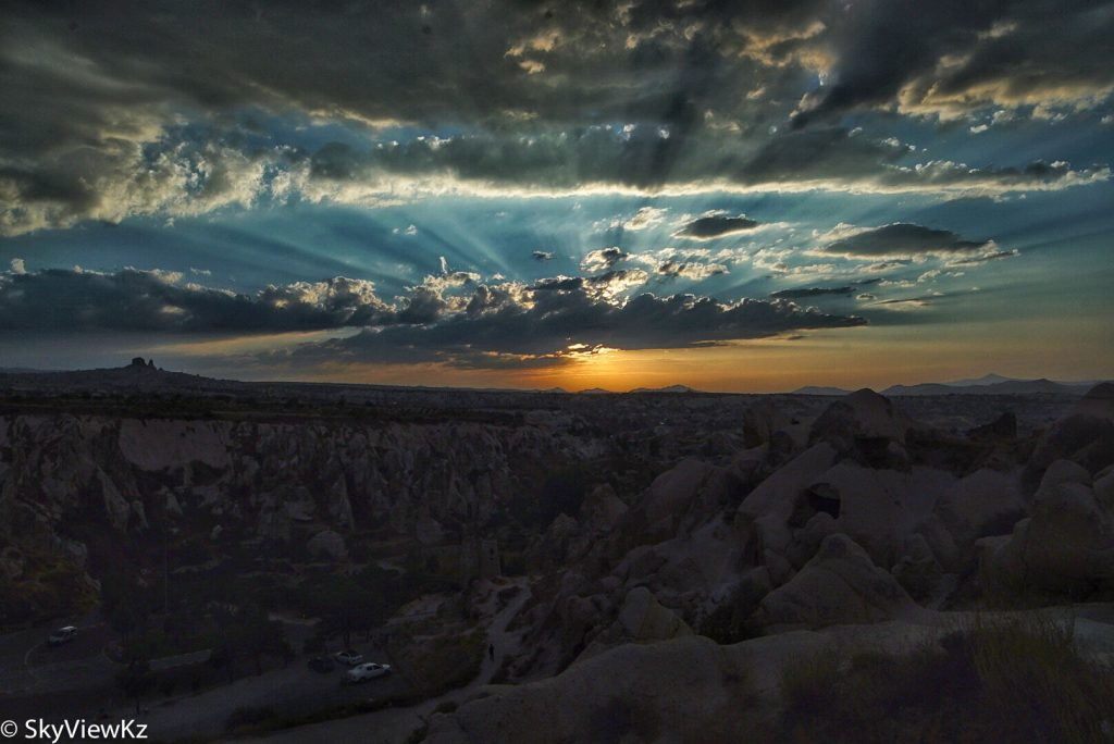 Sunset. Kapadokya