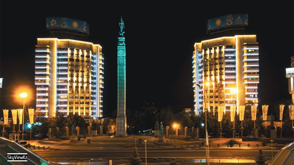 Новая площадь Алматы