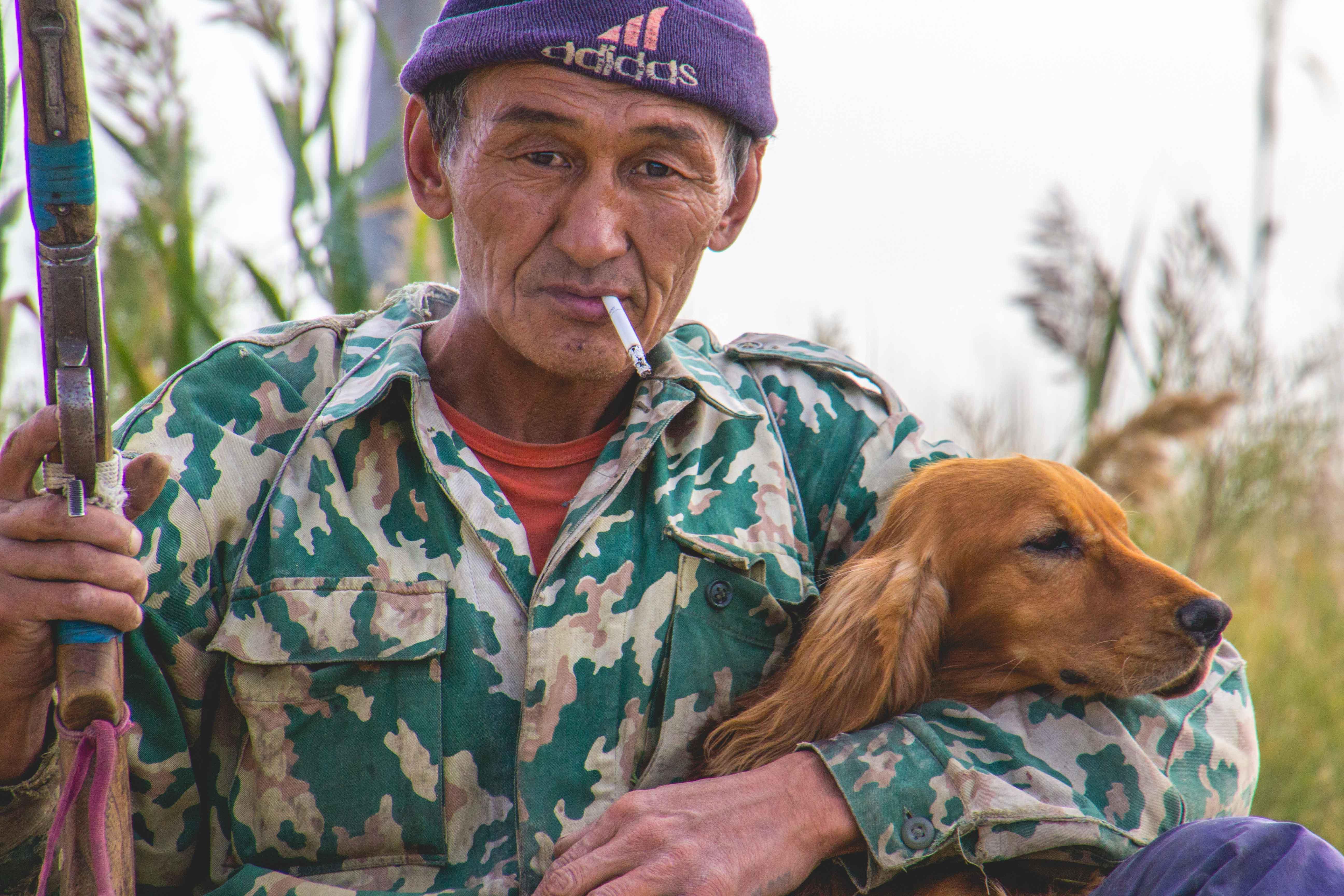 Браконьер Баке и его любимый пес