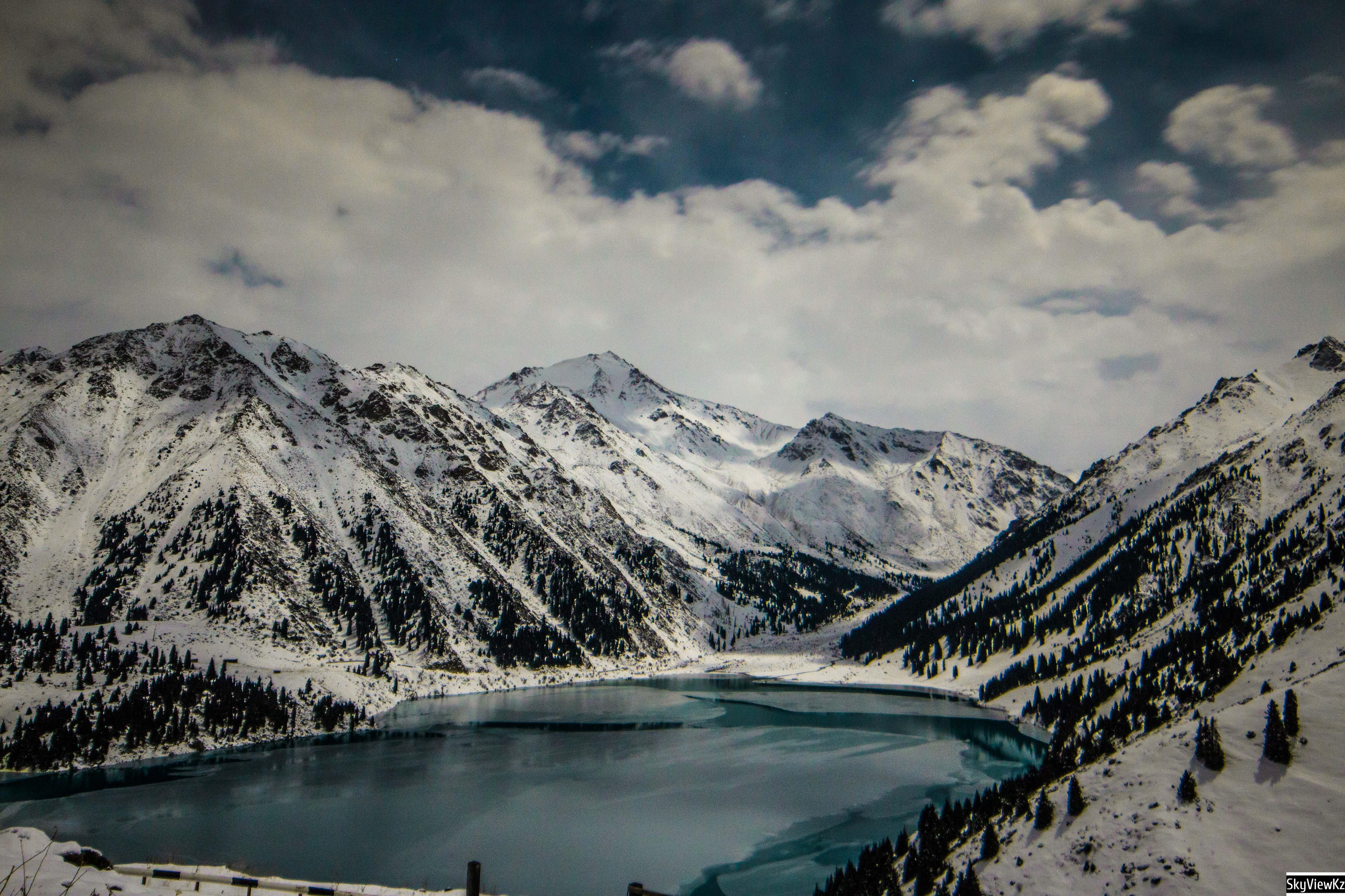Горы Алматы . Ночные фото