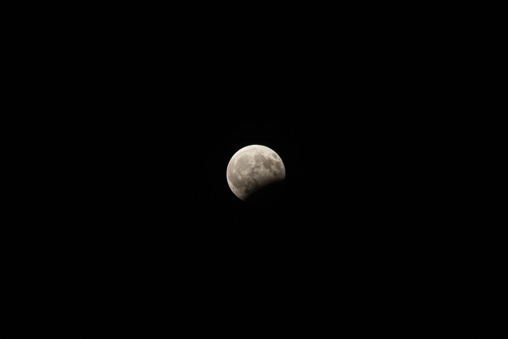 Частичное затмение луны. Вид со Стамбула. By SkyViewKz