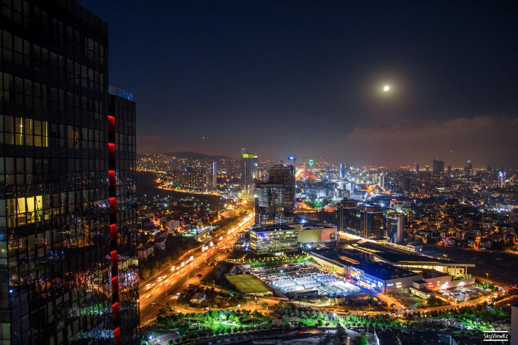 Затмение луны. Вид со Стамбула