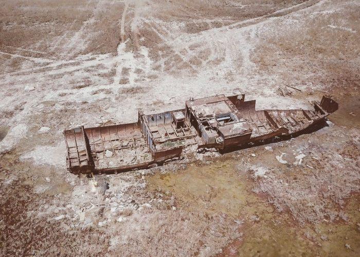 Aral Sea drone 4k