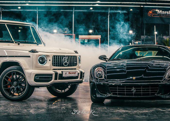Mercedes-Benz G-Class & Ferrari