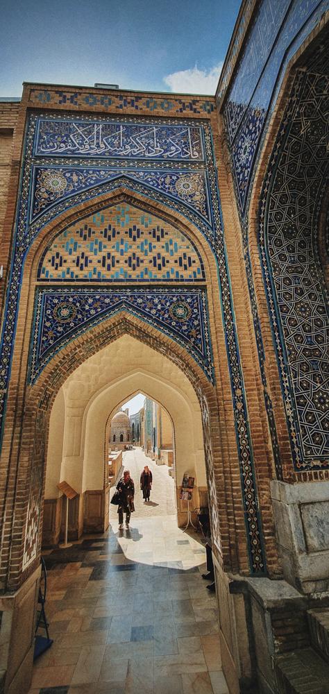 Shohi Zinda. Samarkand