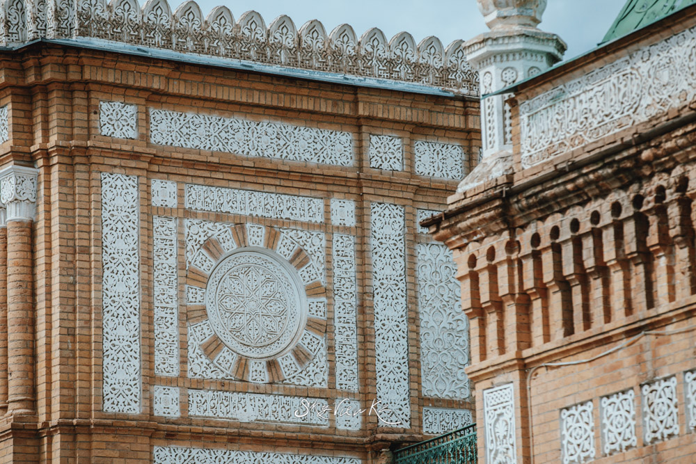 Орнамент. Дворец эмира Бухарского (Каган)